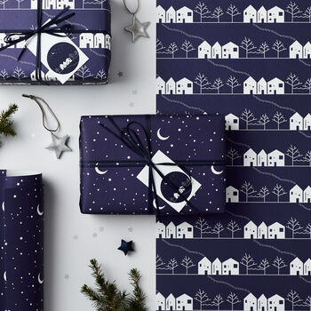 Winter Wonderland Mixed Christmas Wrapping Paper Set