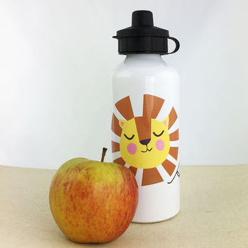 Personalised Lion Water Bottle