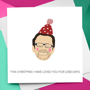 Personalised Christmas Figure Card