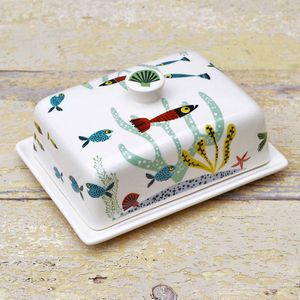 Fish Butter Dish - butter dishes