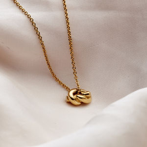 Petite Knot Necklace - friendship jewellery