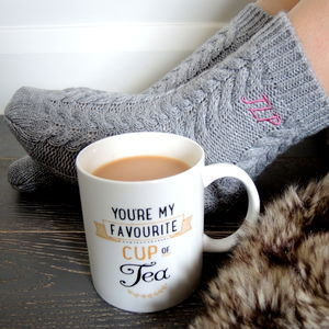Personalised Sock And Mug Gift Set - valentine's gifts for her