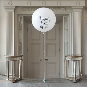 Happily Ever After Giant Balloon - engagement gifts