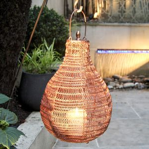 Copper Al Fresco Lantern - lanterns