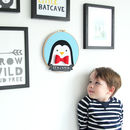 Penguin Artwork for child's bedroom