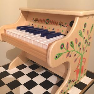 Wooden Toy Electric Piano - traditional toys & games