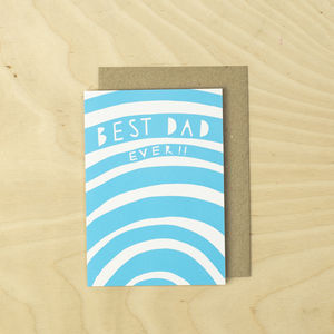 Best Dad Ever! Card