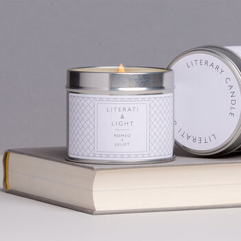 Romeo And Juliet Vine And Cassis Soy Literary Candle