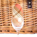 Amber And Tan Tartan Barn Hamper For Four
