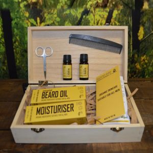 Complete Organic Father's Day Beard Grooming Set