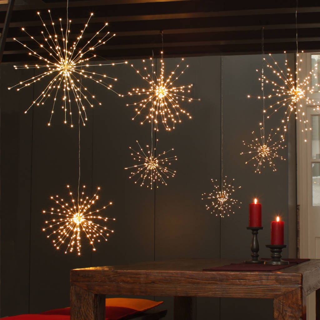 Starburst Hanging Light Decoration By All Things Brighton