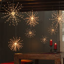 Starburst Hanging Light Decoration