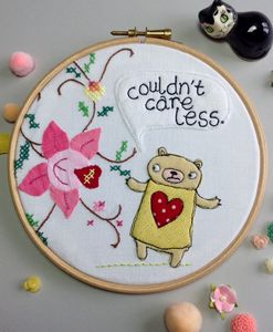 Grumpy Bear 'Couldn't Care Less' Hoop