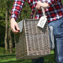 Hazelmere Personalised Two Person Picnic Hamper