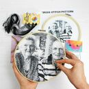 Black Stitch A Selfie Cross Stitch Kit