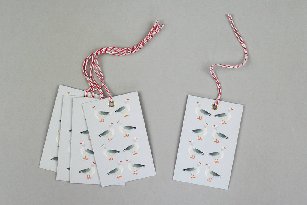 geese christmas wrapping paper by nancy & betty studio | notonthehighstreet.com