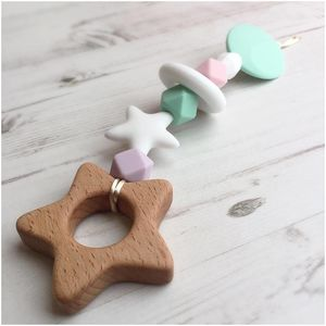 Star Beech Nibbler - teethers