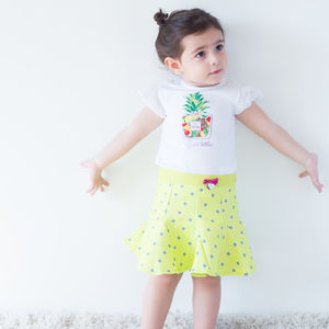 Pleated Baby Girl Skirt - clothing