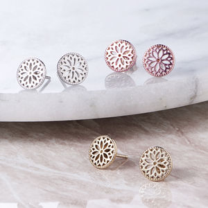 Purity Mandala Stud Earrings - shop by recipient