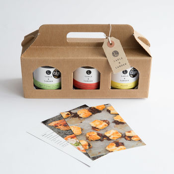 Build Your Own Chutney Trio Gift Box