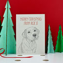 Labrador Christmas Card