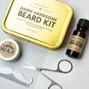 'Damn Handsome' Beard Grooming Kit