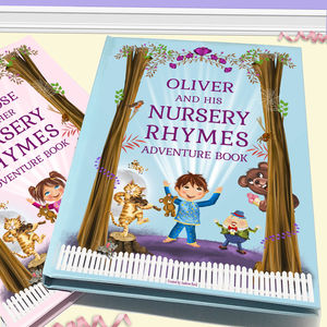 Personalised Nursery Rhymes And Poems Book - winter sale
