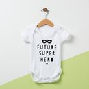 Future Super Hero Baby Grow