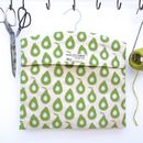 Peg Bag Avocado Print
