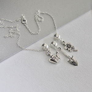 Personalised Garden Lovers Necklace