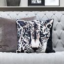 Graphic Leopard Print Cushion