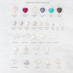 Silver Plated Charms - winter sale