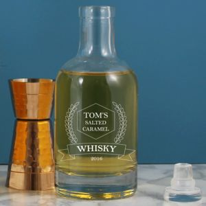 Personalised Home Brewer's Whisky Bottle