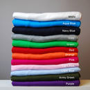 Children's T shirt colours