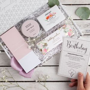 The Birthday Box Letterbox Gift Set