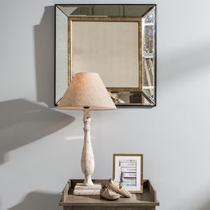 Waltham Antique Glass Wall Mirror - mirrors