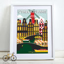 2015 Tour De France Grand Depart Bike Poster Art Print