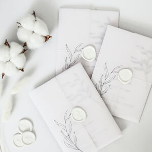 Dreamy Wedding Invitation