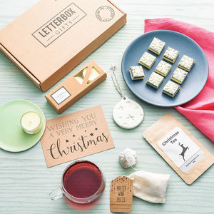 Christmas Letterbox Gift Set - christmas food & drink
