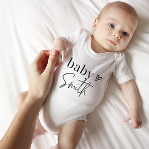 f129c64b5 Unique Baby Clothes with a Difference | notonthehighstreet.com
