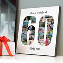 Personalised 60th Birthday Photo Collage
