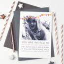 Personalised Photo Birthday Party Invitations