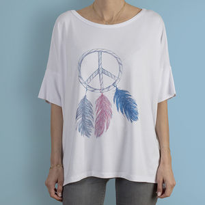 Wishing Upon Peace T Shirt - tops & t-shirts