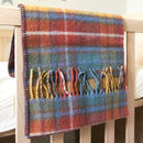 Pure New Wool Tartan Pram Blankets