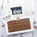 Sonogram Chocolate Card
