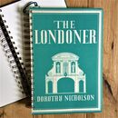 'The Londoner' Upcycled Notebook
