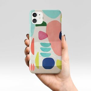 Giant Sparrows Organic Bold Shapes Phone Case