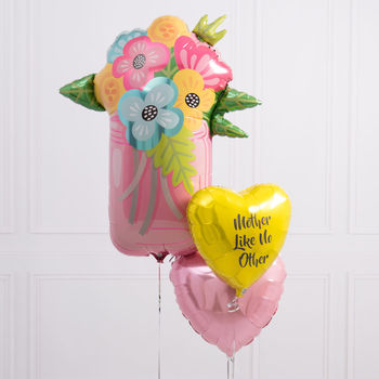 Inflated Personalised Mother's Day Balloon Bunch