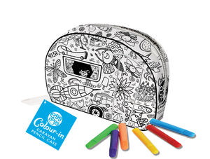 Colour In Caravan Pencil Case - activity & colouring books