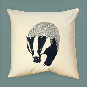 Badger Cushion Cover